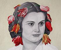 retrato Carmen Jiménez Bleye